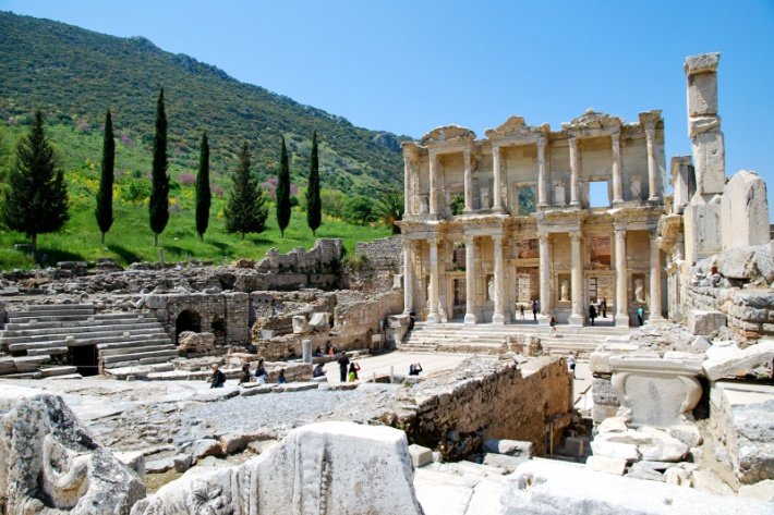 Epheszosz romvárosa