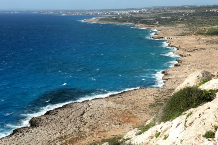 Ciprus - Cape Greco kilátó
