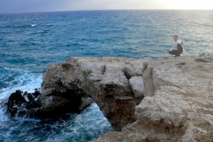 Ciprus - Kamara Tou Koraka szikla