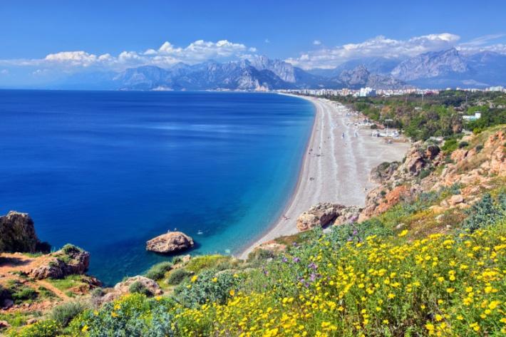 Antalya tengerpartja