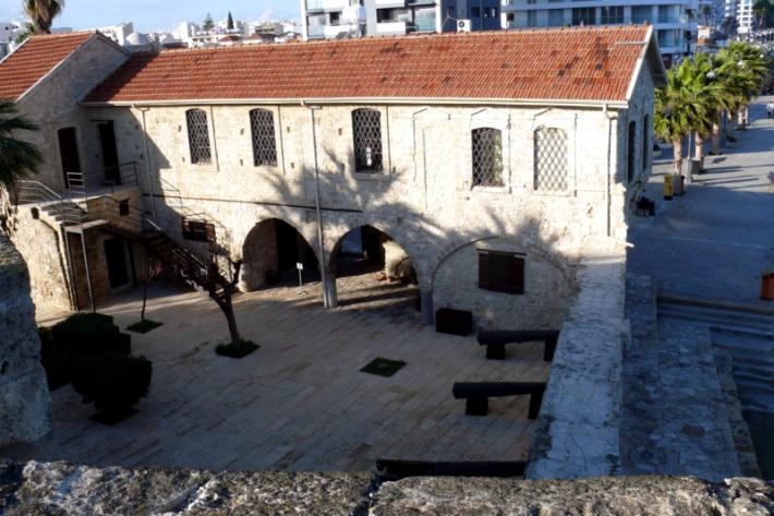 Ciprus - Larnacai erőd