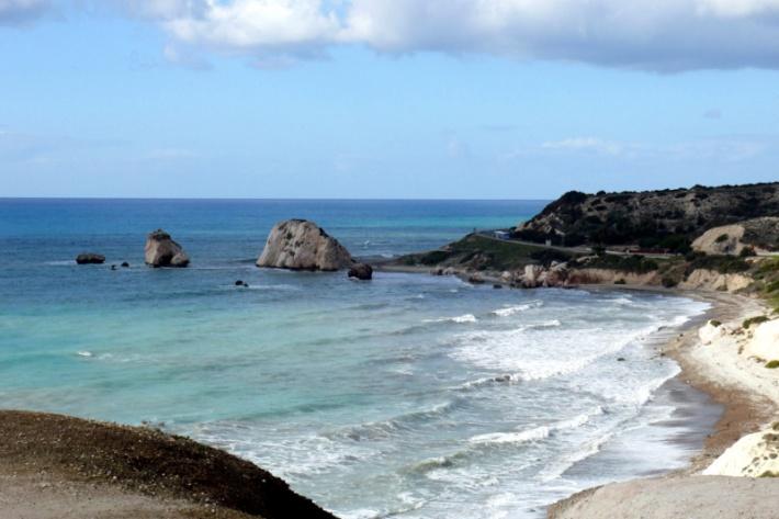 Ciprus - Petra Tou Romiou, Aphrodité szülőhelye
