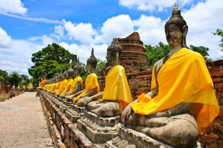 Thaiföld - Ayutthaya