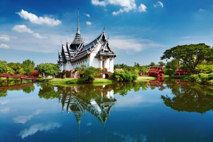 Thaiföld - bangkoki palota