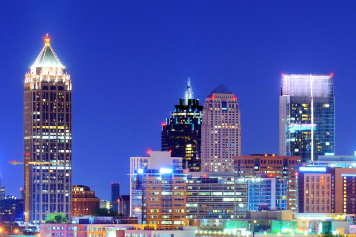 Atlanta városképe